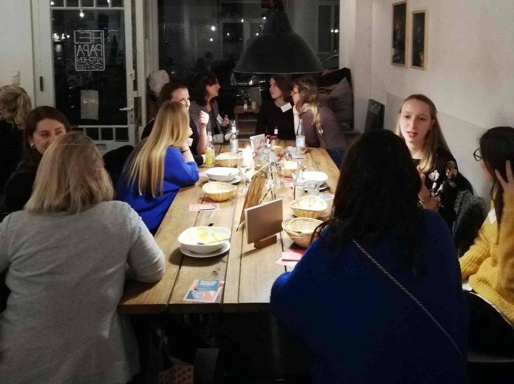 Frauenrunde des Female Leadership Meetup in Hamburg