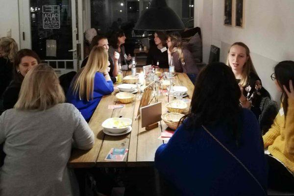 Frauenrunde des Female Leadership Meetup in Hamburg