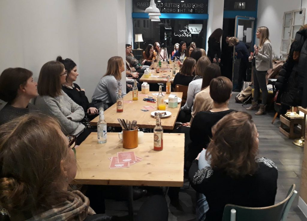 Frauenrunde des Female Leadership Meetup in München