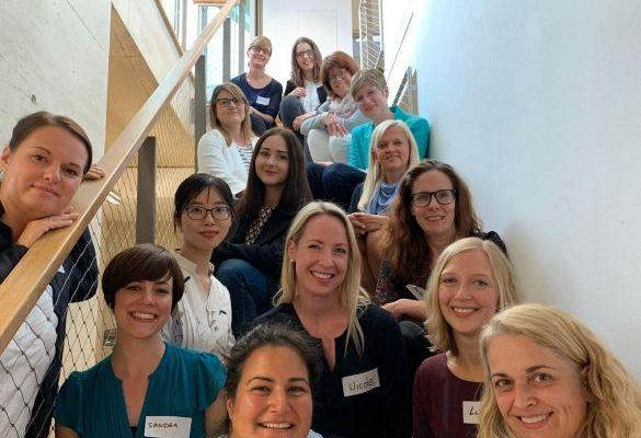 Frauenrunde des Female Leadership Meetups in Hamburg von Vera Strauch