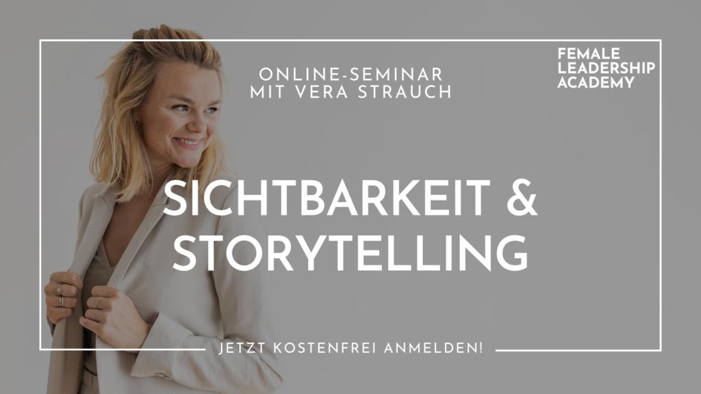 Sichtbarkeit und Storytelling