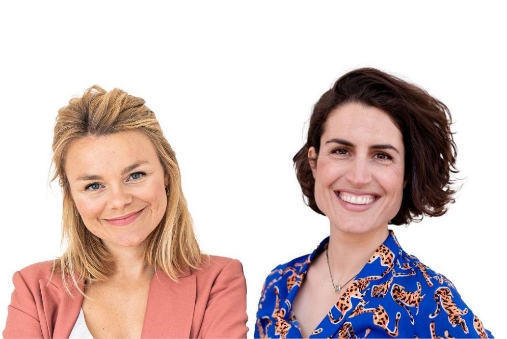 Vera Strauch und Elly Oldenbourg
